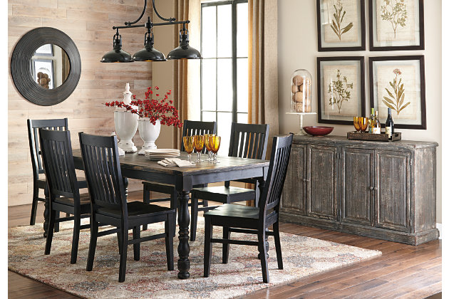 Gray Clayco Bay Dining Room Server View 4