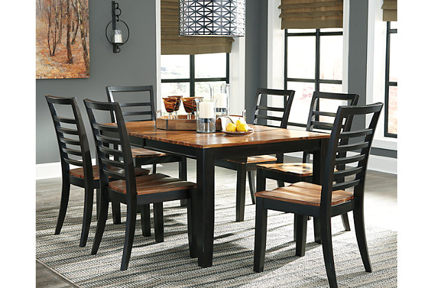 Quinley Dining Room Table by Ashley HomeStore, Brown