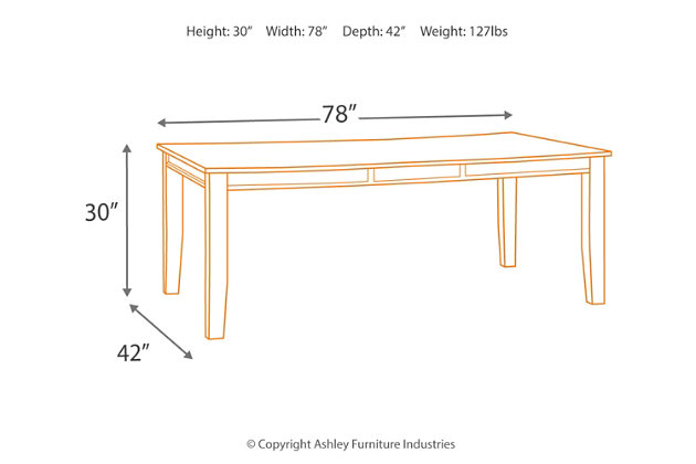 Quinley Dining Room Table, , large