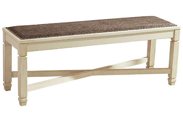 Bolanburg Dining Room Bench Ashley Furniture Homestore