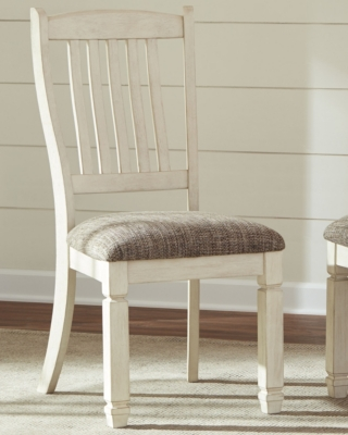 Ashley Bolanburg Dining Room Chair (Set of 2), Two-tone