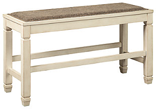 Bolanburg Counter Height Dining Room Bench, , large