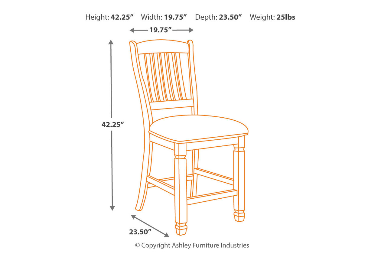 Brilliant Bolanburg Counter Height Bar Stool Ashley Furniture Homestore Andrewgaddart Wooden Chair Designs For Living Room Andrewgaddartcom