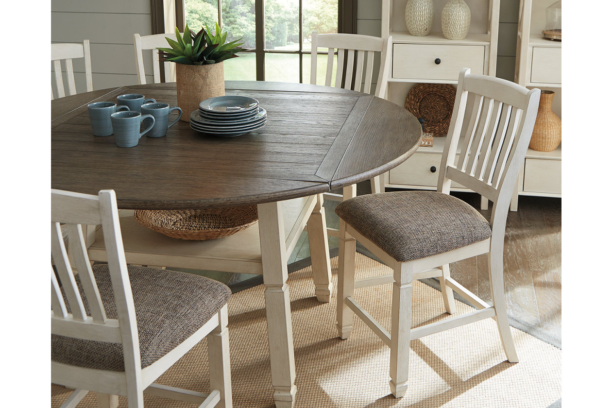 Bolanburg Counter Height Dining Room Drop Leaf Table Ashley Furniture Homestore