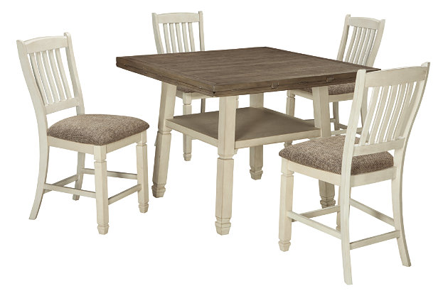 Bolanburg 5-Piece Counter Height Dining Room, , large