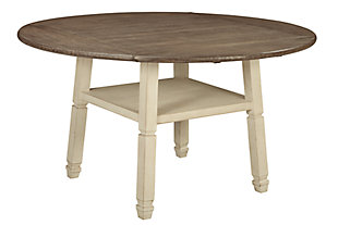 Bolanburg Counter Height Dining Drop Leaf Table, , large
