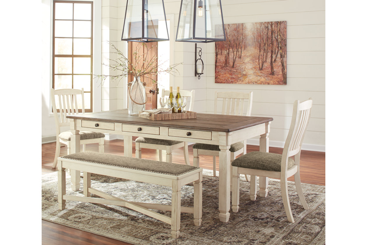 Bolanburg 6-Piece Dining Room | Ashley Furniture HomeStore