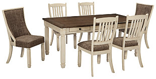 Bolanburg Dining Table and 6 Chairs, , large