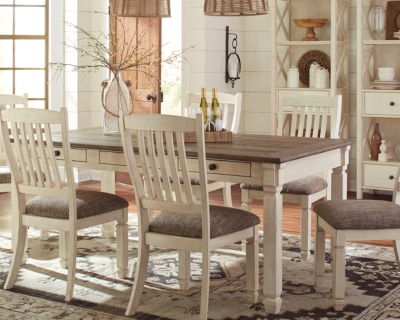 Bolanburg Dining Room Table by Ashley HomeStore, Two-tone