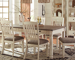 Dining Room Tables Ashley Furniture HomeStore - Ashley furniture white dining table