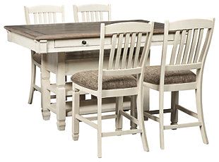 Bolanburg 5 Piece Counter Dining Room, ...