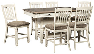 Bolanburg Counter Height Dining Table and 6 Barstools, , rollover