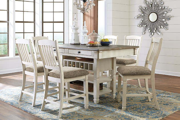 ... Bolanburg Counter Height Dining Room Table, , Large ...