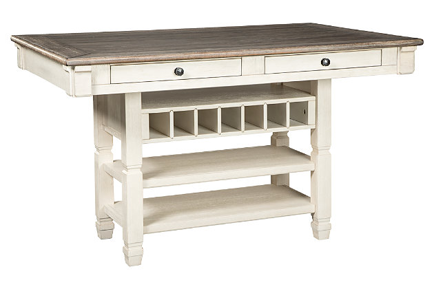 bolanburg counter height dining room table | ashley furniture