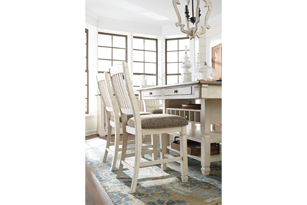 Bolanburg Counter Height Dining Table and 4 Barstools, , large