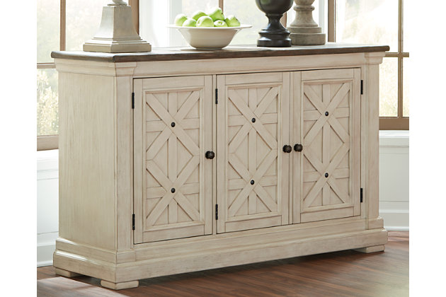 Two Tone Bolanburg Dining Room Server View 1