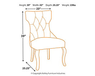 Coralayne Dining Chair, , large