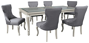 Coralayne Dining Table and 6 Chairs, , large