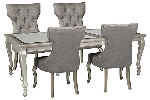 Coralayne Dining Table and 4 Chairs, , large