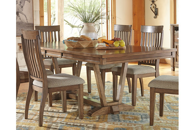 Colestad Dining Room Table by Ashley HomeStore, Light Brown