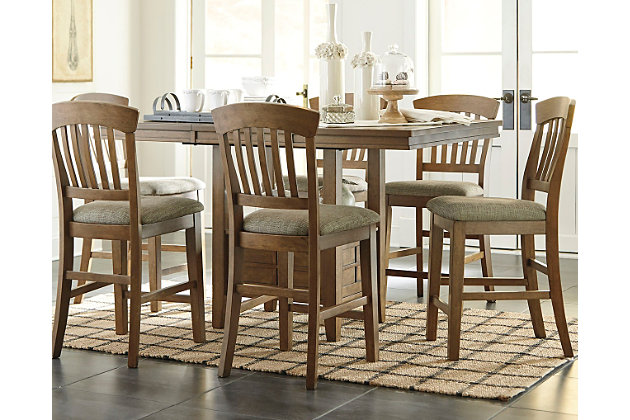 Tamburg Counter Height Dining Room Table | Ashley Furniture HomeStore