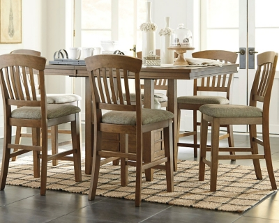 Tamburg Counter Height Dining Room Table Ashley Furniture HomeStore
