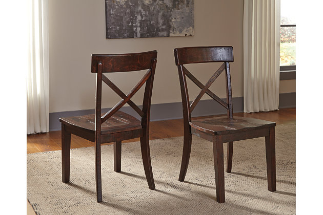 Gerlane Dining Room Chair (Set of 2) by Ashley HomeStore, Brown
