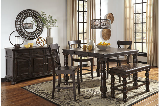 Gerlane Counter Height Dining Room Table, , large