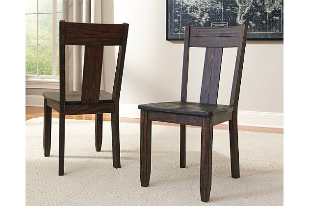 trudell dining room chair | ashley furniture homestore
