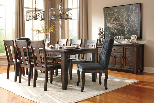 Trudell Dining Room Chair Ashley Furniture Homestore