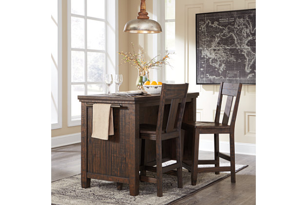 trudell counter height dining room table | ashley furniture homestore