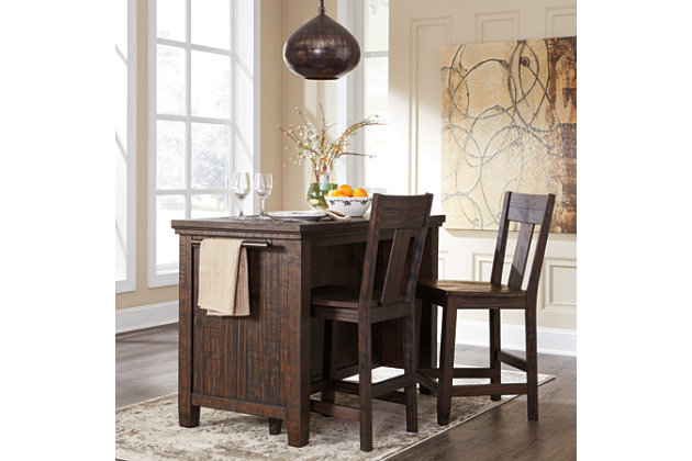trudell counter height bar stool | ashley furniture homestore