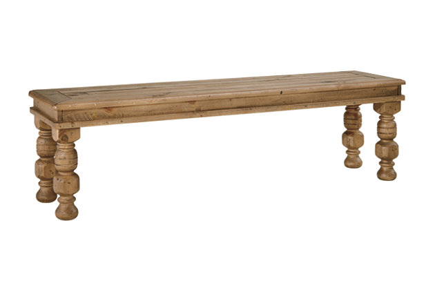 Trishley Dining Room Bench by Ashley HomeStore, Light Brown