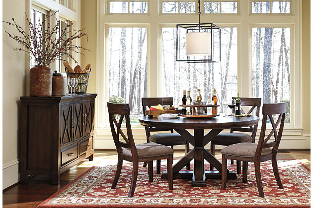 Windville Piece Dining Room Ashley Furniture HomeStore - Ashley furniture high top table