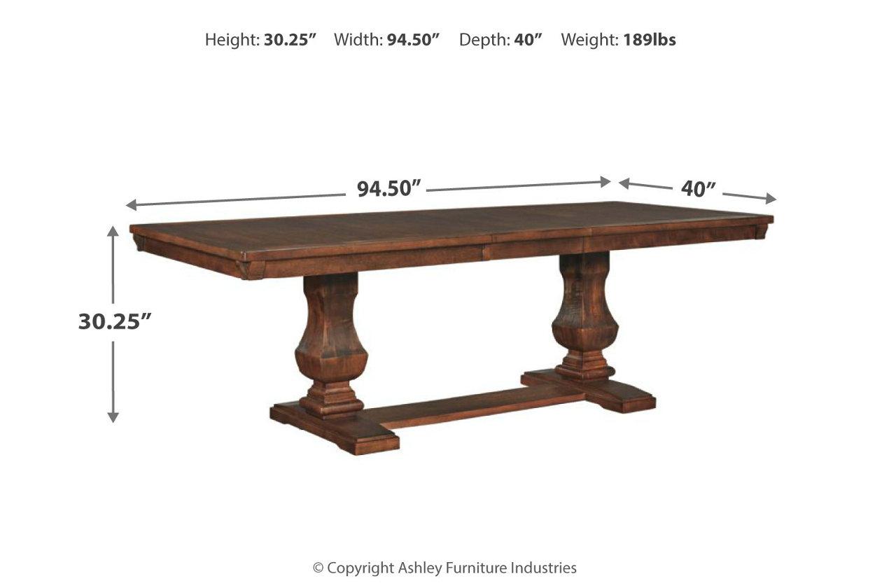 Windville Dining Room Table Ashley Furniture Homestore