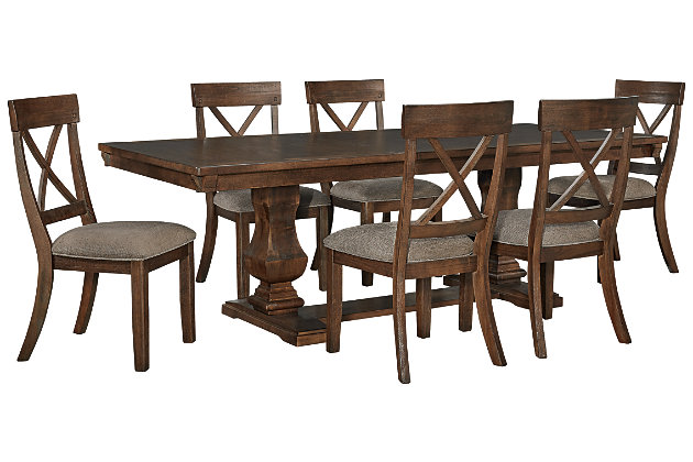 Windville Dining Table and 6 Chairs, , large