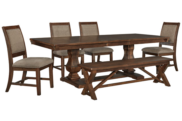 Windville 5 Piece Dining Room Ashley Furniture Homestore