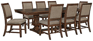 Windville Dining Table and 8 Chairs, , large