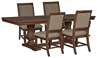 Windville Dining Table and 4 Chairs, , large