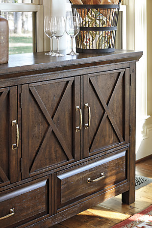 Windville Dining Room Server Ashley Furniture Homestore