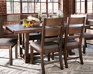 Large Zenfield Dining Room Table Rollover Tables Ashley Furniture HomeStore