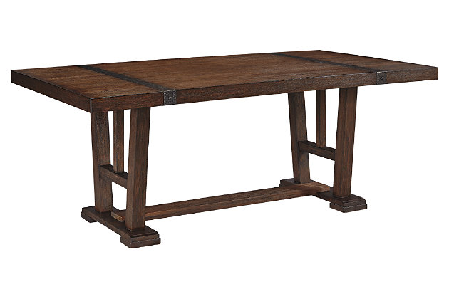 Ashley Dining Room Furniture zenfield dining room table | ashley furniture homestore