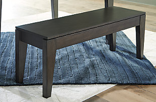 Trishcott Dining Room Storage Bench, , rollover