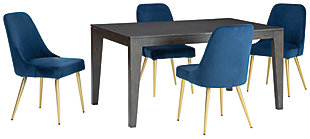 Trishcott Dining Table and 4 Chairs, , large