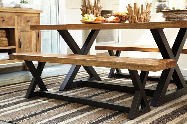 Wesling Dining Room Bench Ashley Furniture Homestore