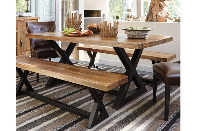 Wesling Dining Room Table Ashley Furniture HomeStore - Rectangular cocktail table by ashley furniture
