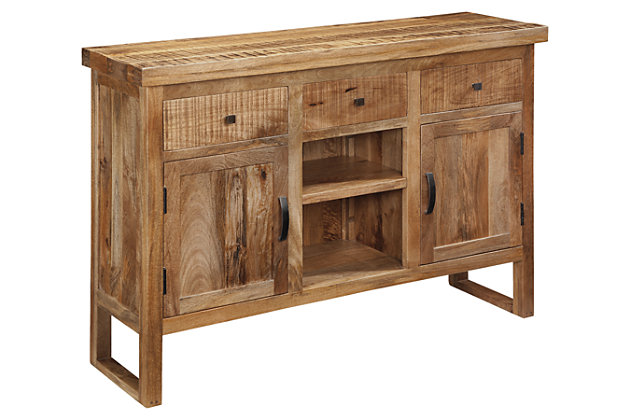 wesling dining room server | ashley furniture homestore