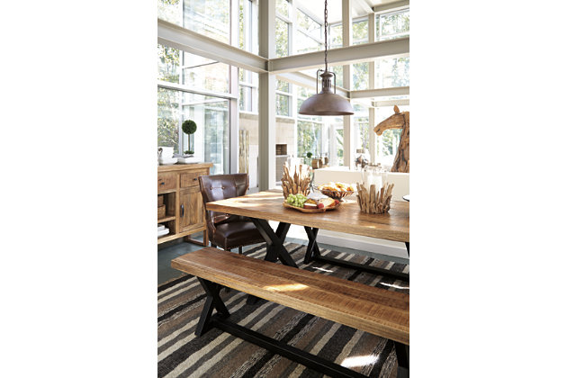 Wesling Dining Room Table Ashley Furniture HomeStore - Ashley wesling coffee table