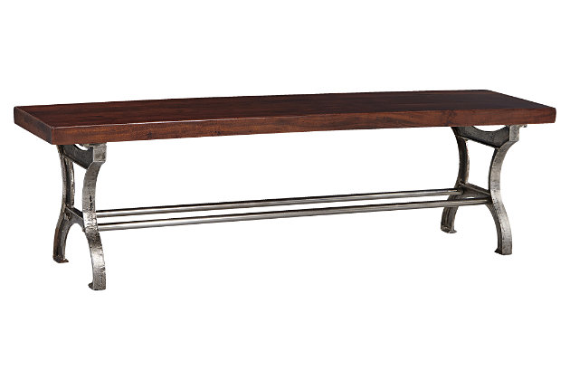 Ranimar Dining Room Bench by Ashley HomeStore, Brown