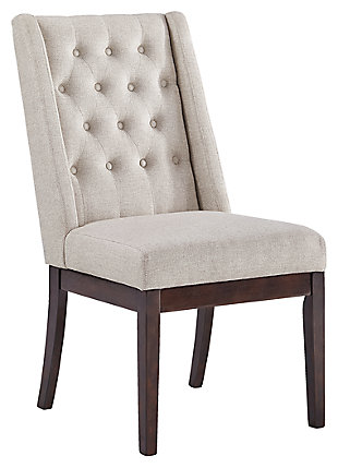Ranimar Dining Room Chair, Beige, large